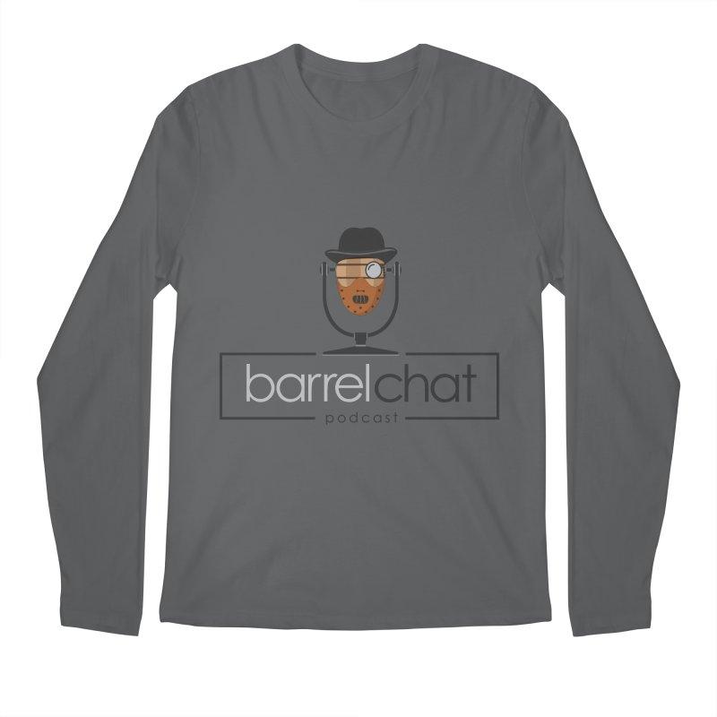 Barrel Chat Podcast - Halloween (Hannibal Lecter) Men's Longsleeve T-Shirt by Barrel Chat Podcast Merch Shop
