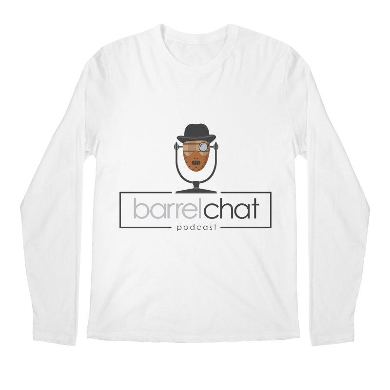Barrel Chat Podcast - Halloween (Hannibal Lecter) Men's Regular Longsleeve T-Shirt by Barrel Chat Podcast Merch Shop