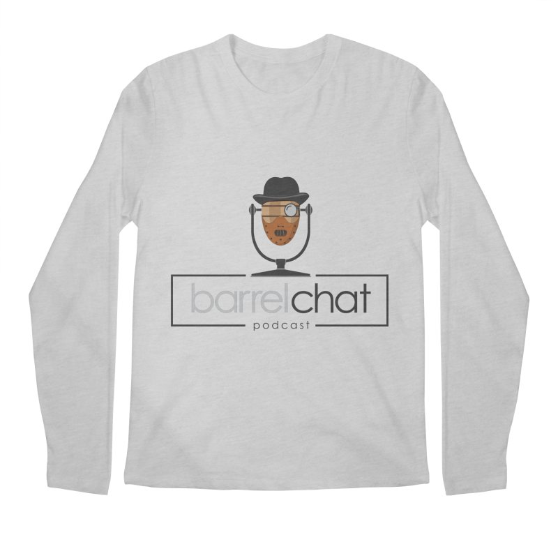 Barrel Chat Podcast - Halloween (Hannibal Lecter) Men's Regular Longsleeve T-Shirt by Barrel Chat Podcast Merch Shop