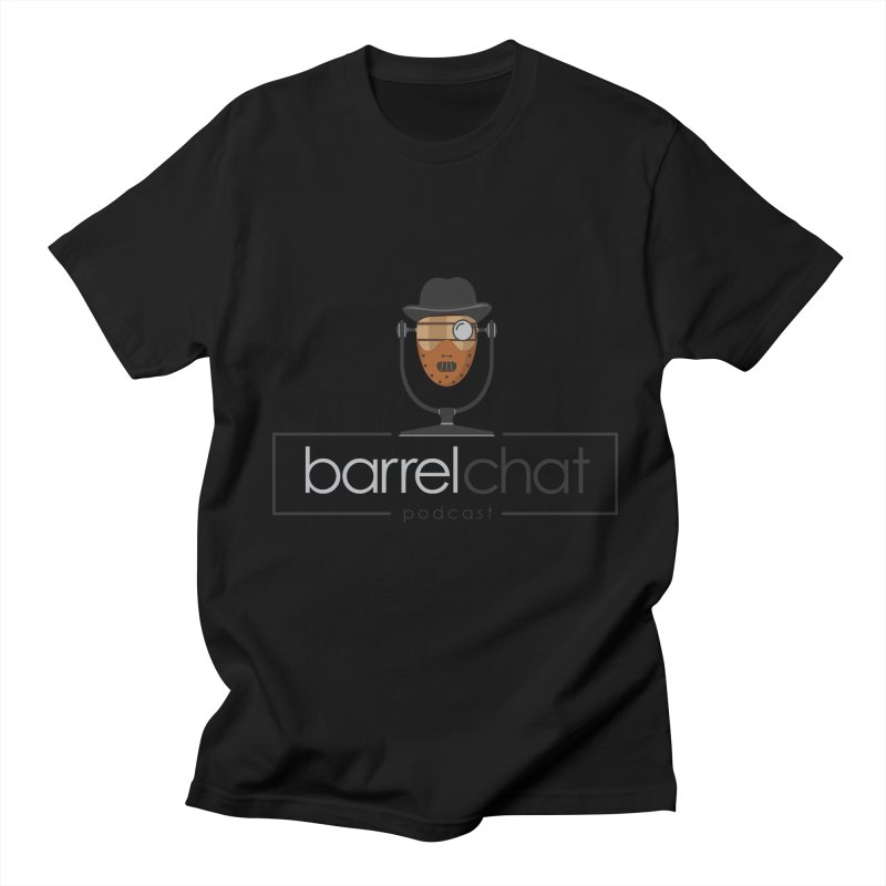 Barrel Chat Podcast - Halloween (Hannibal Lecter) Men's Regular T-Shirt by Barrel Chat Podcast Merch Shop