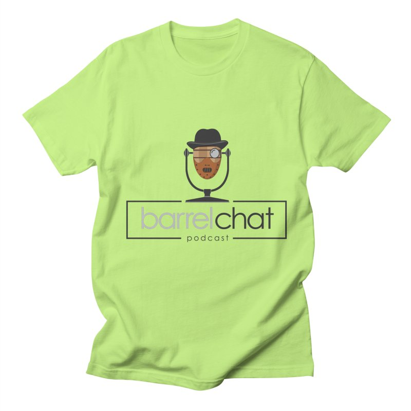 Barrel Chat Podcast - Halloween (Hannibal Lecter) Women's Regular Unisex T-Shirt by Barrel Chat Podcast Merch Shop