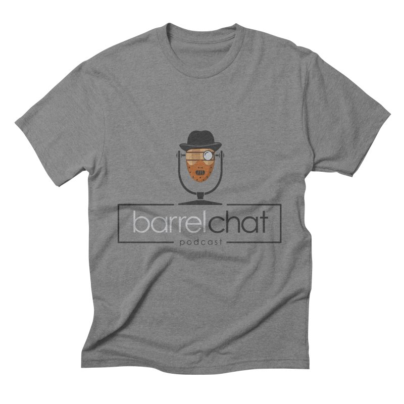 Barrel Chat Podcast - Halloween (Hannibal Lecter) Men's Triblend T-Shirt by Barrel Chat Podcast Merch Shop