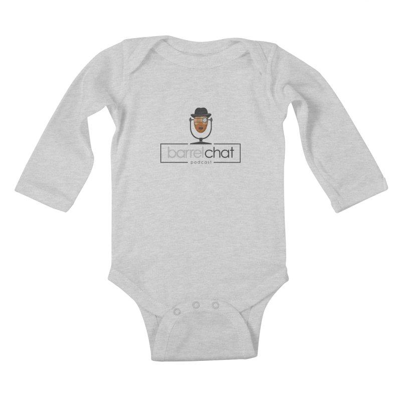 Barrel Chat Podcast - Halloween (Hannibal Lecter) Kids Baby Longsleeve Bodysuit by Barrel Chat Podcast Merch Shop
