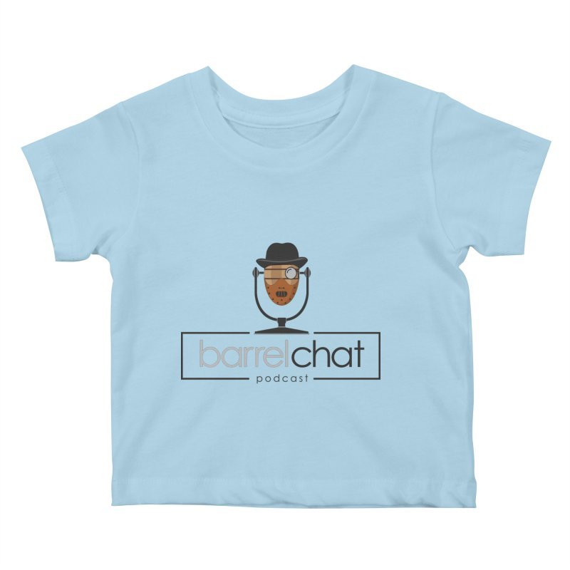 Barrel Chat Podcast - Halloween (Hannibal Lecter) Kids Baby T-Shirt by Barrel Chat Podcast Merch Shop