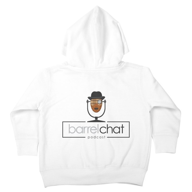 Barrel Chat Podcast - Halloween (Hannibal Lecter) Kids Toddler Zip-Up Hoody by Barrel Chat Podcast Merch Shop