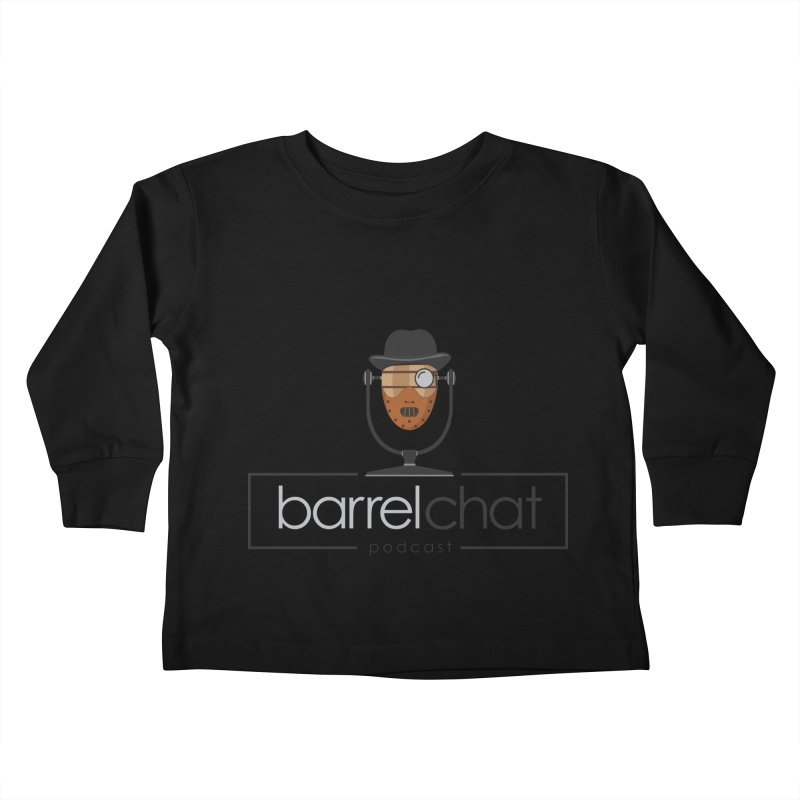 Barrel Chat Podcast - Halloween (Hannibal Lecter) Kids Toddler Longsleeve T-Shirt by Barrel Chat Podcast Merch Shop