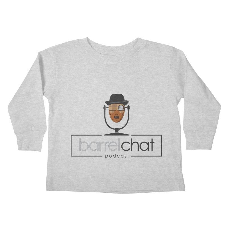 Barrel Chat Podcast - Halloween (Hannibal Lecter) Kids Toddler Longsleeve T-Shirt by Barrel Chat Podcast Merch Shop