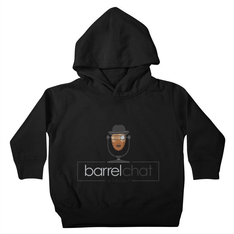 Barrel Chat Podcast - Halloween (Hannibal Lecter) Kids Toddler Pullover Hoody by Barrel Chat Podcast Merch Shop
