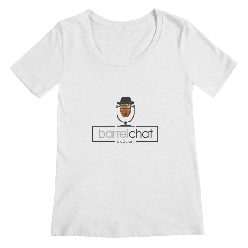 Barrel Chat Podcast - Halloween (Hannibal Lecter) Women's Regular Scoop Neck by Barrel Chat Podcast Merch Shop