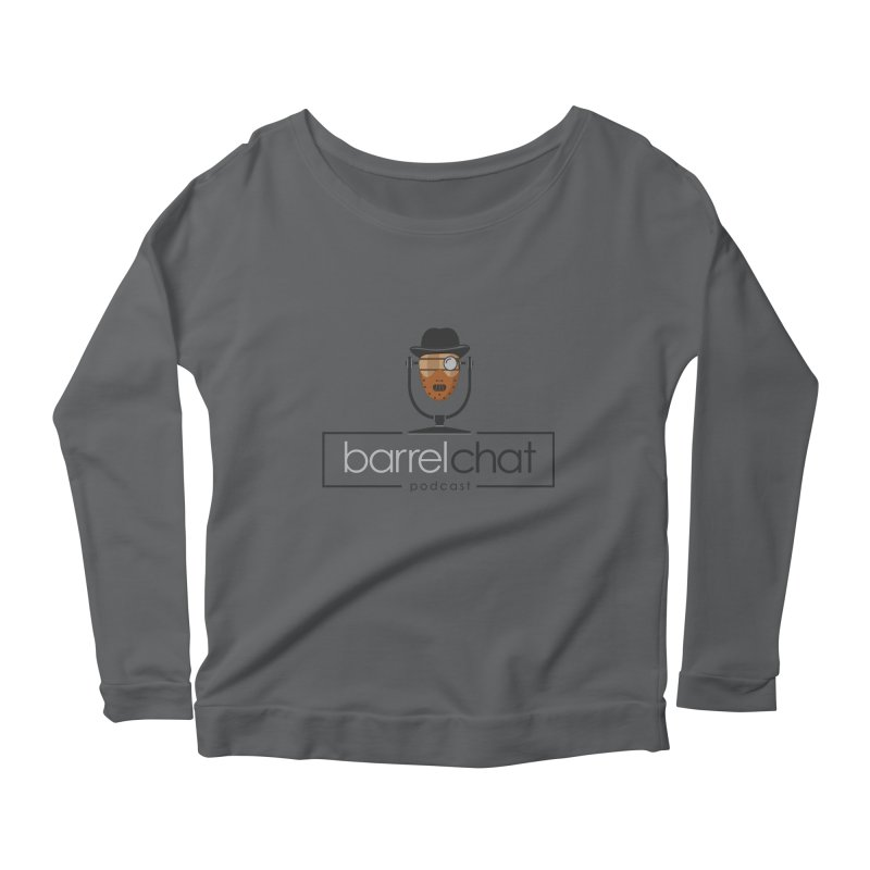 Barrel Chat Podcast - Halloween (Hannibal Lecter) Women's Scoop Neck Longsleeve T-Shirt by Barrel Chat Podcast Merch Shop