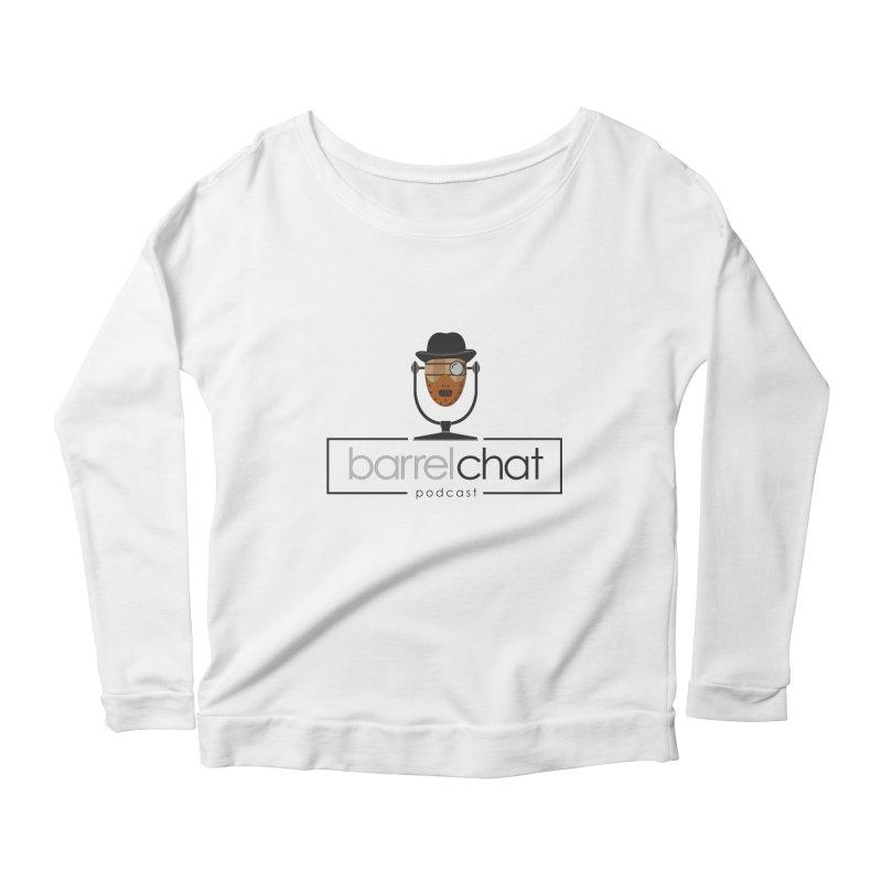 Barrel Chat Podcast - Halloween (Hannibal Lecter) Women's Scoop Neck Longsleeve T-Shirt by Barrel Chat Podcast Merch Shop