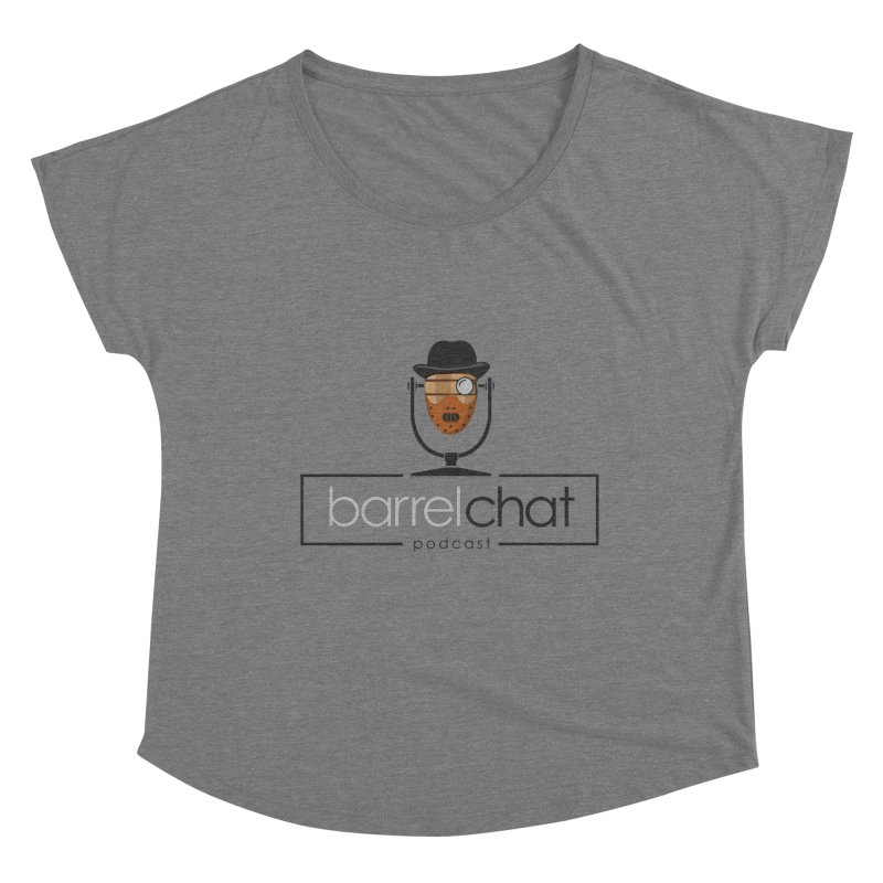Barrel Chat Podcast - Halloween (Hannibal Lecter) Women's Scoop Neck by Barrel Chat Podcast Merch Shop