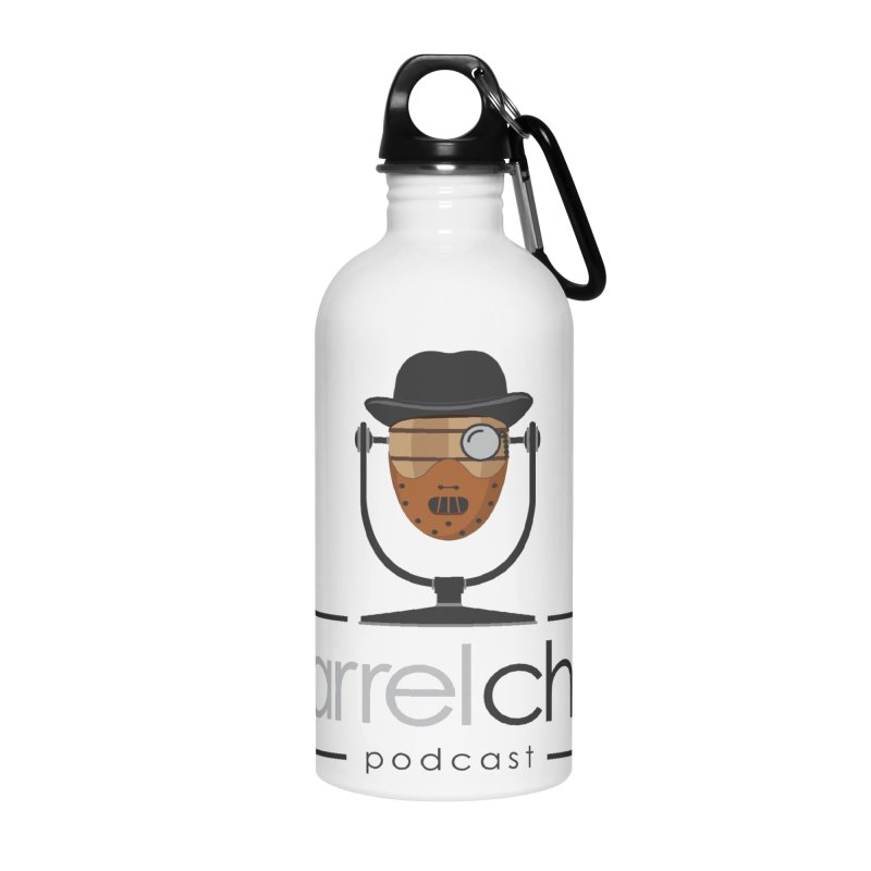 Barrel Chat Podcast - Halloween (Hannibal Lecter) Accessories Water Bottle by Barrel Chat Podcast Merch Shop