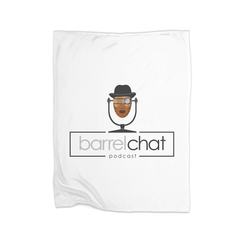 Barrel Chat Podcast - Halloween (Hannibal Lecter) Home Blanket by Barrel Chat Podcast Merch Shop