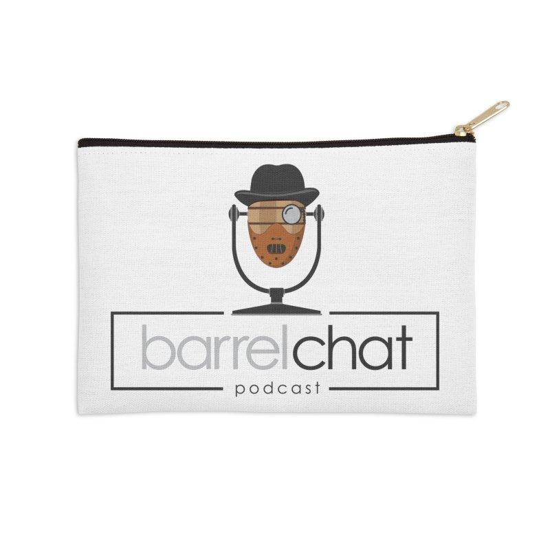 Barrel Chat Podcast - Halloween (Hannibal Lecter) Accessories Zip Pouch by Barrel Chat Podcast Merch Shop