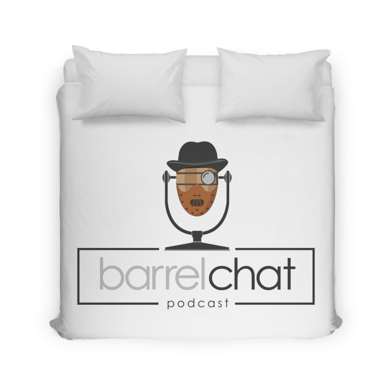 Barrel Chat Podcast - Halloween (Hannibal Lecter) Home Duvet by Barrel Chat Podcast Merch Shop