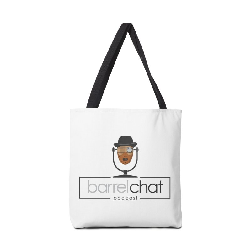 Barrel Chat Podcast - Halloween (Hannibal Lecter) Accessories Tote Bag Bag by Barrel Chat Podcast Merch Shop