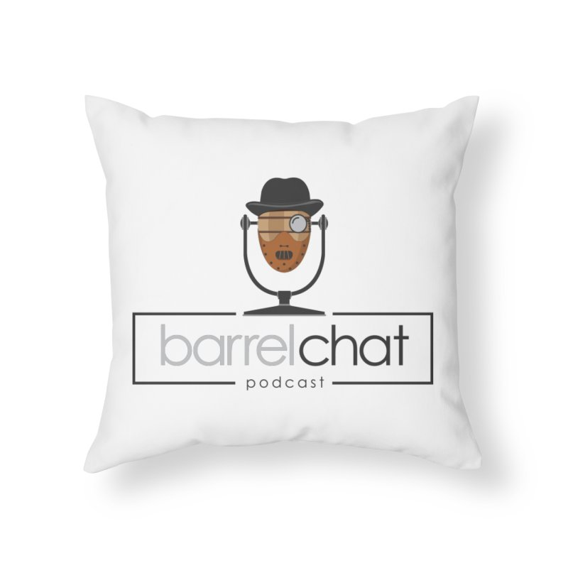 Barrel Chat Podcast - Halloween (Hannibal Lecter) Home Throw Pillow by Barrel Chat Podcast Merch Shop