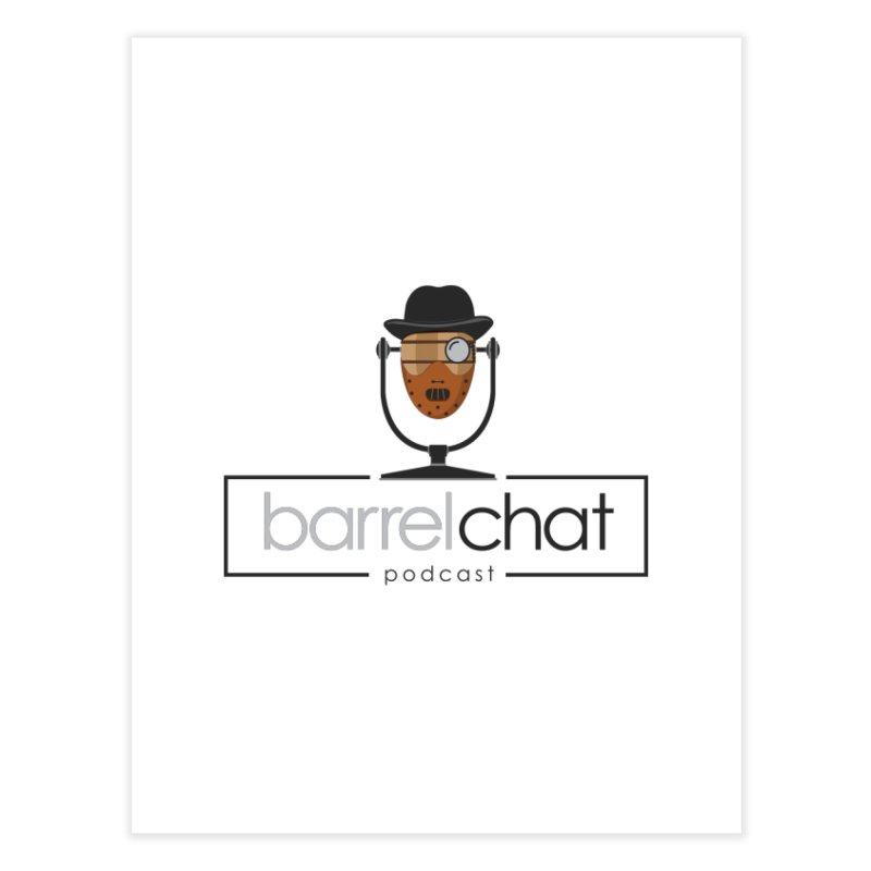 Barrel Chat Podcast - Halloween (Hannibal Lecter) Home Fine Art Print by Barrel Chat Podcast Merch Shop