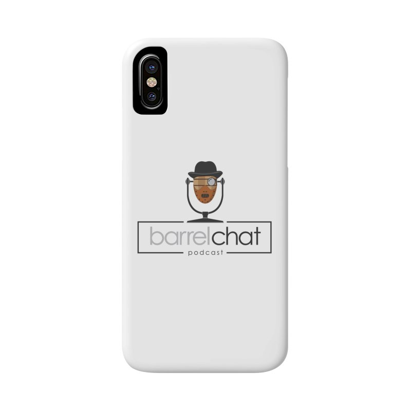Barrel Chat Podcast - Halloween (Hannibal Lecter) Accessories Phone Case by Barrel Chat Podcast Merch Shop