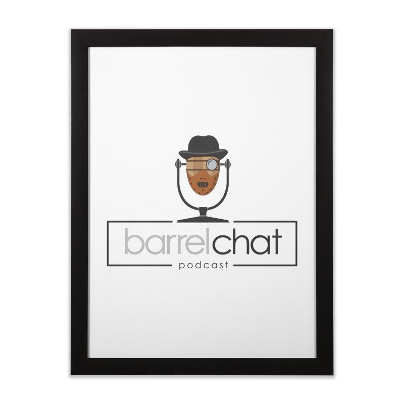 Barrel Chat Podcast - Halloween (Hannibal Lecter) Home Framed Fine Art Print by Barrel Chat Podcast Merch Shop
