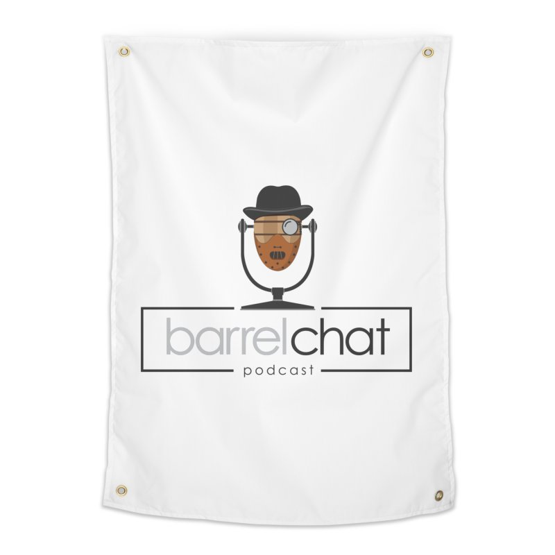 Barrel Chat Podcast - Halloween (Hannibal Lecter) Home Tapestry by Barrel Chat Podcast Merch Shop