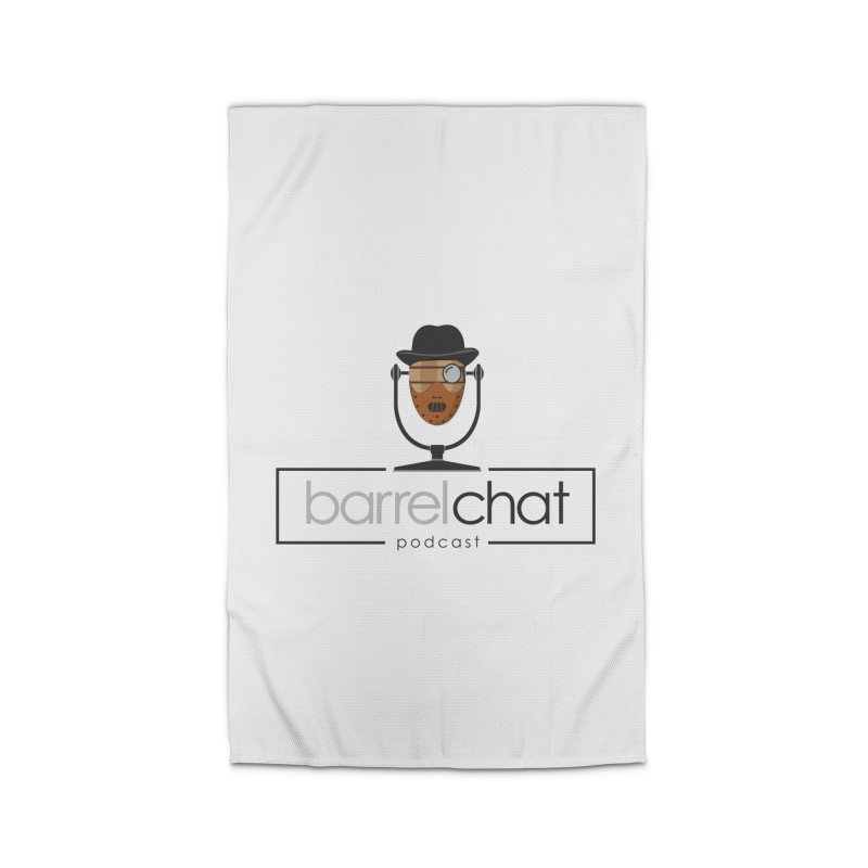 Barrel Chat Podcast - Halloween (Hannibal Lecter) Home Rug by Barrel Chat Podcast Merch Shop