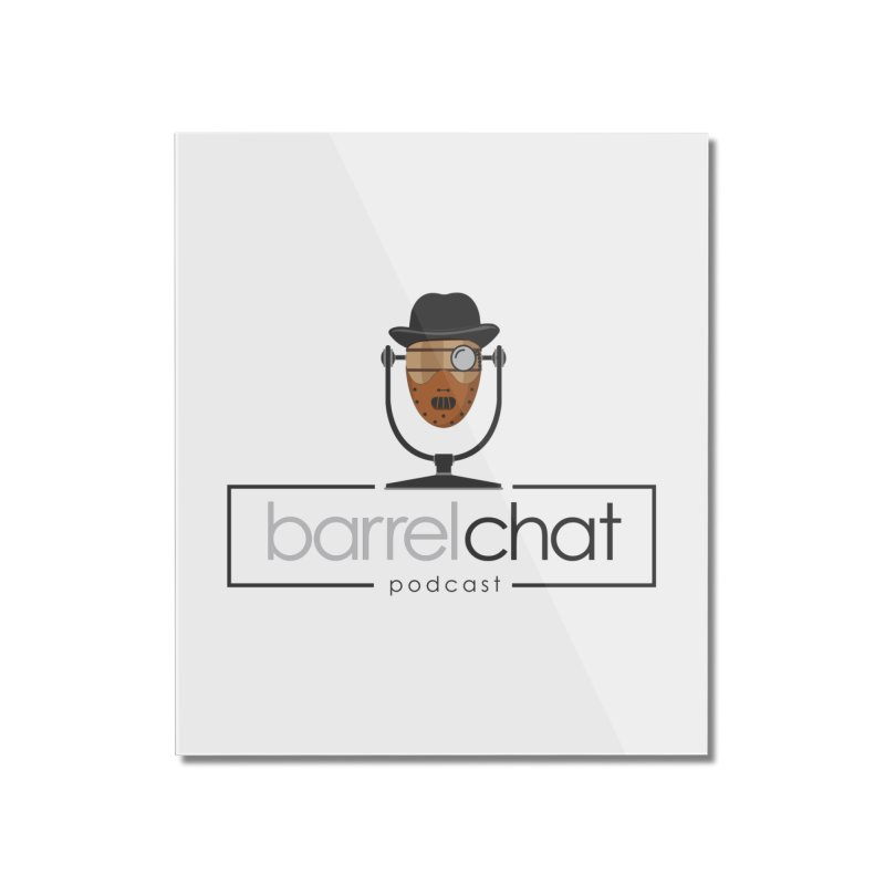 Barrel Chat Podcast - Halloween (Hannibal Lecter) Home Mounted Acrylic Print by Barrel Chat Podcast Merch Shop
