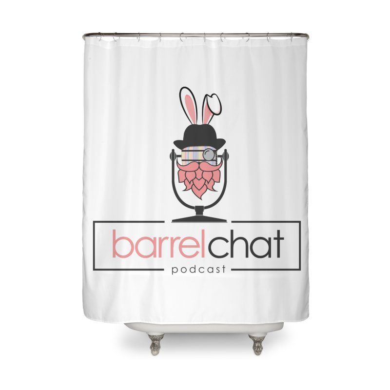 Barrel Chat Podcast - Easter Home Shower Curtain by Barrel Chat Podcast Merch Shop
