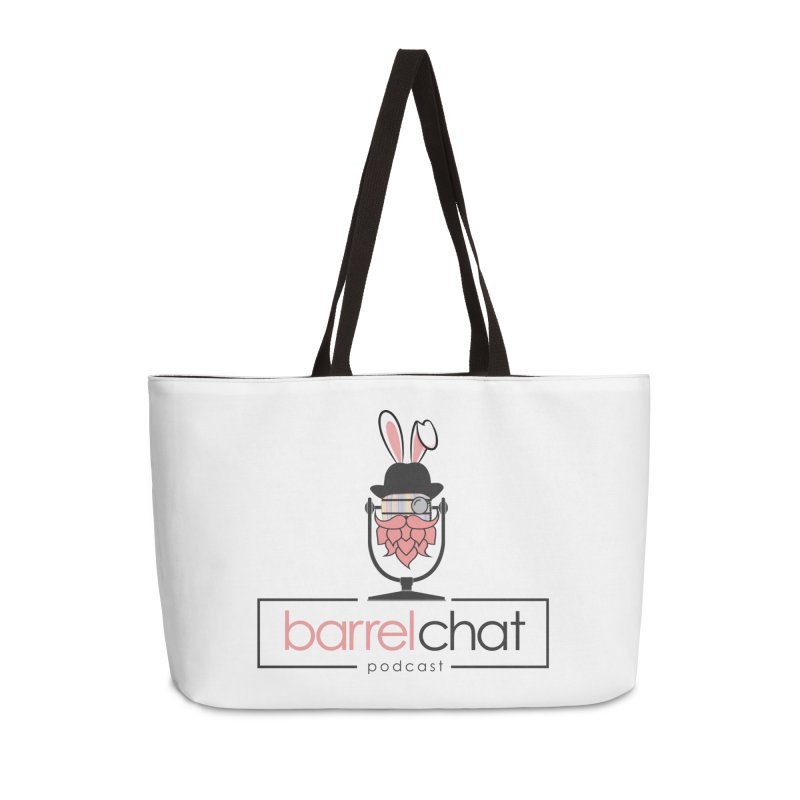 Barrel Chat Podcast - Easter Accessories Weekender Bag Bag by Barrel Chat Podcast Merch Shop