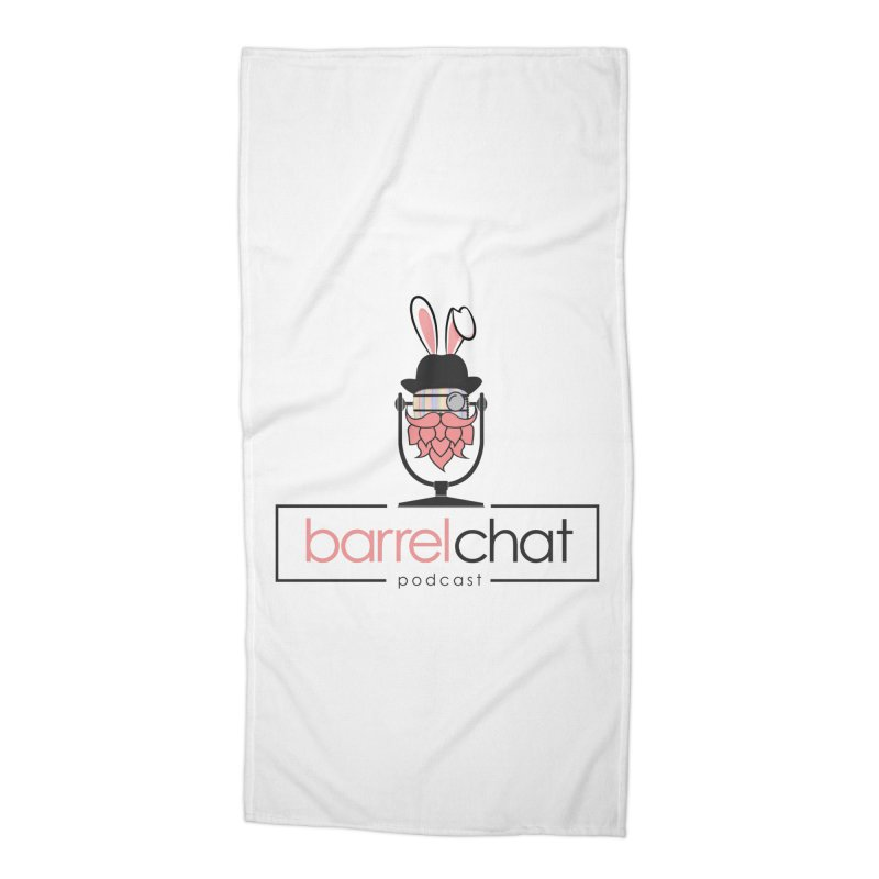 Barrel Chat Podcast - Easter Accessories Beach Towel by Barrel Chat Podcast Merch Shop