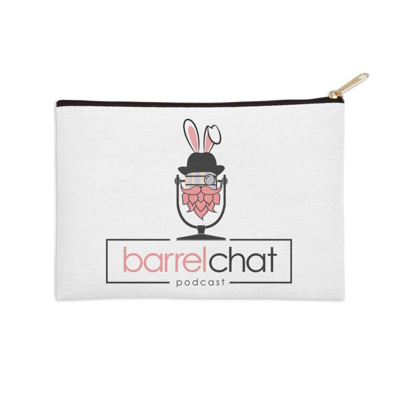Barrel Chat Podcast - Easter Accessories Zip Pouch by Barrel Chat Podcast Merch Shop