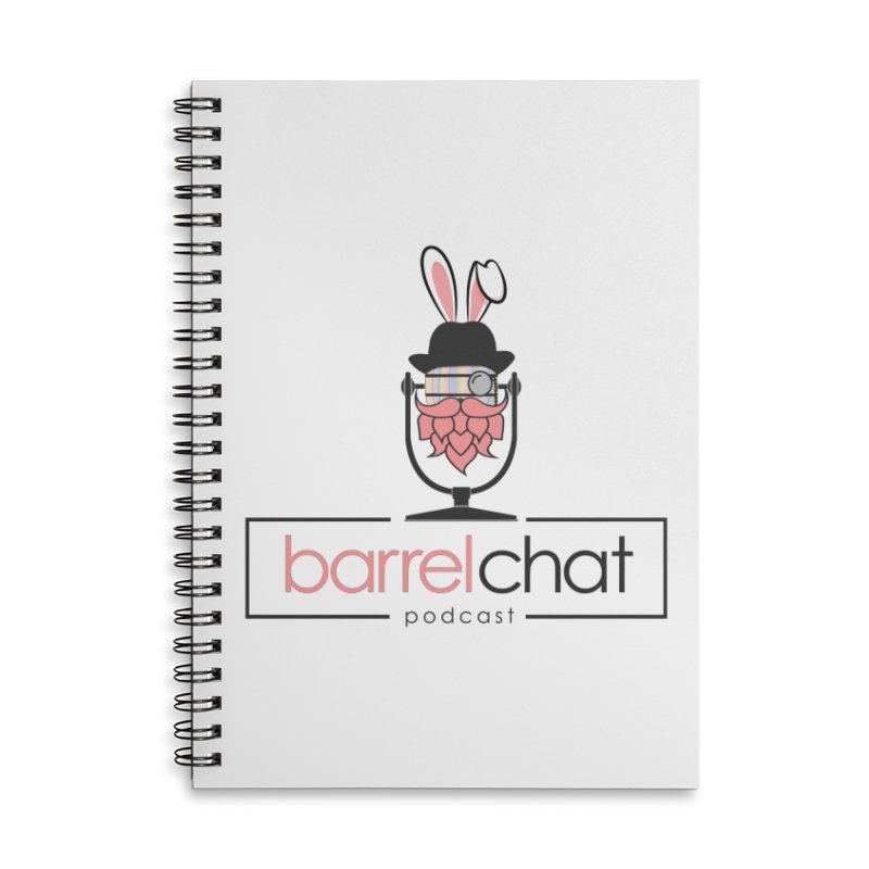 Barrel Chat Podcast - Easter Accessories Lined Spiral Notebook by Barrel Chat Podcast Merch Shop