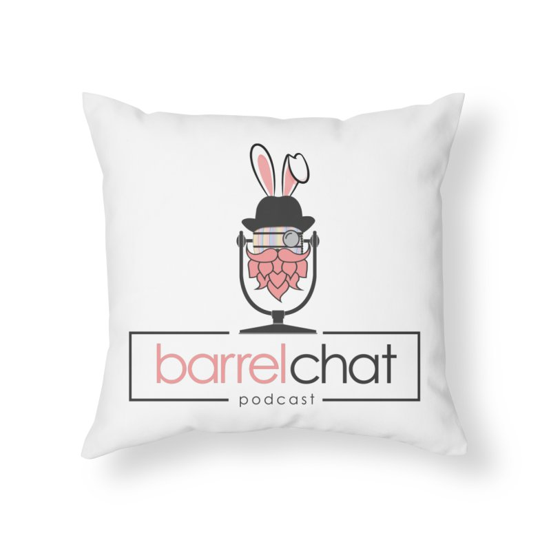 Barrel Chat Podcast - Easter Home Throw Pillow by Barrel Chat Podcast Merch Shop