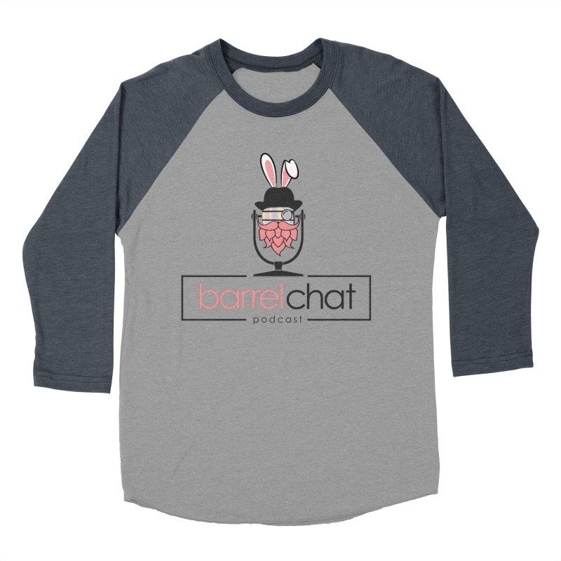 Barrel Chat Podcast - Easter Men's Baseball Triblend Longsleeve T-Shirt by Barrel Chat Podcast Merch Shop