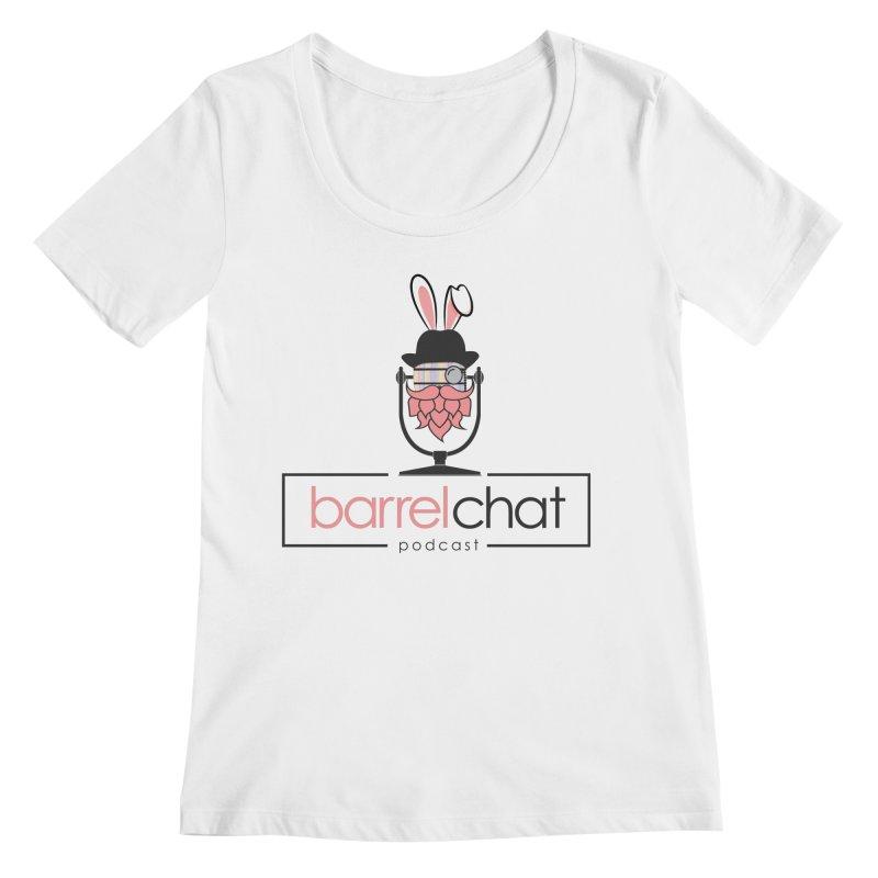 Barrel Chat Podcast - Easter Women's Regular Scoop Neck by Barrel Chat Podcast Merch Shop