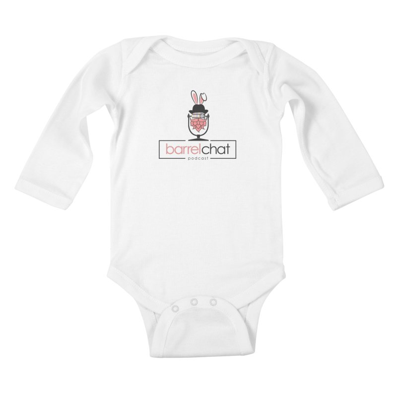 Barrel Chat Podcast - Easter Kids Baby Longsleeve Bodysuit by Barrel Chat Podcast Merch Shop