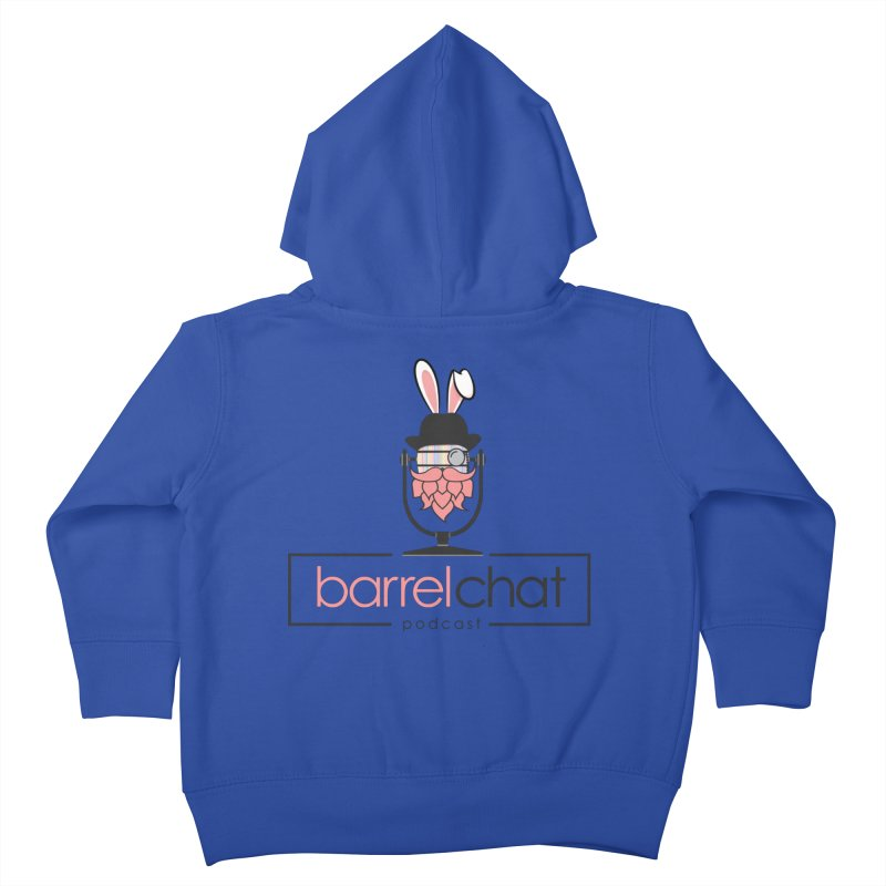Barrel Chat Podcast - Easter Kids Toddler Zip-Up Hoody by Barrel Chat Podcast Merch Shop