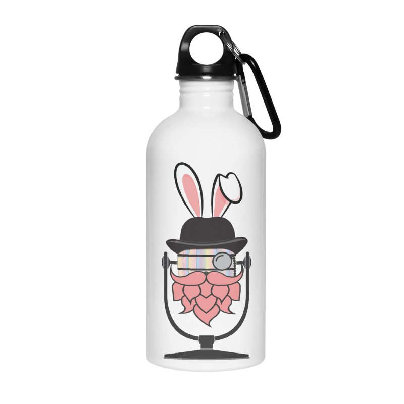 Easter Hoppy Accessories Water Bottle by Barrel Chat Podcast Merch Shop
