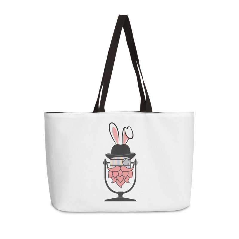 Easter Hoppy Accessories Weekender Bag Bag by Barrel Chat Podcast Merch Shop