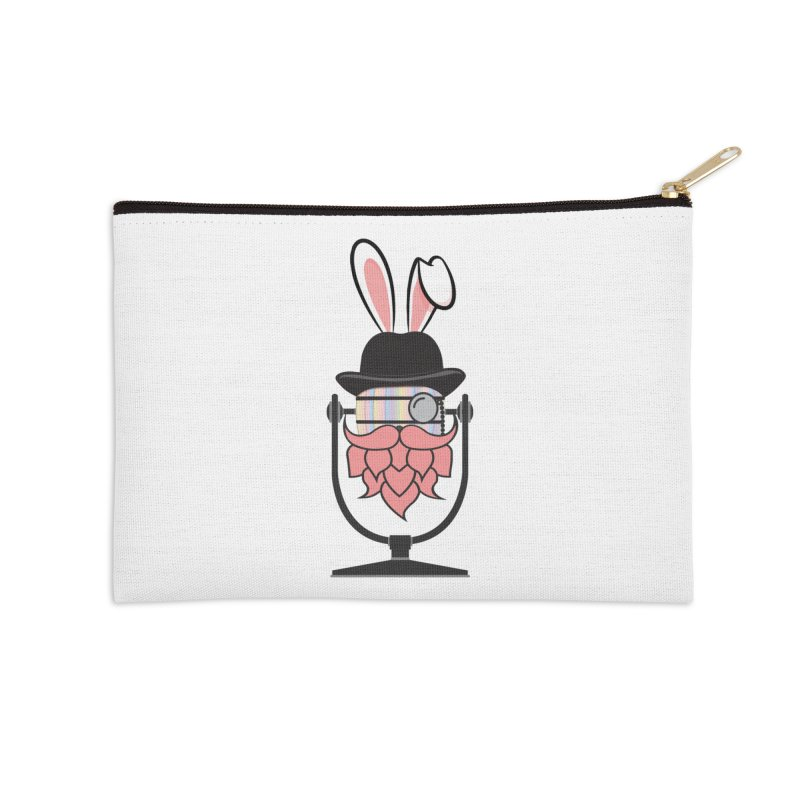 Easter Hoppy Accessories Zip Pouch by Barrel Chat Podcast Merch Shop