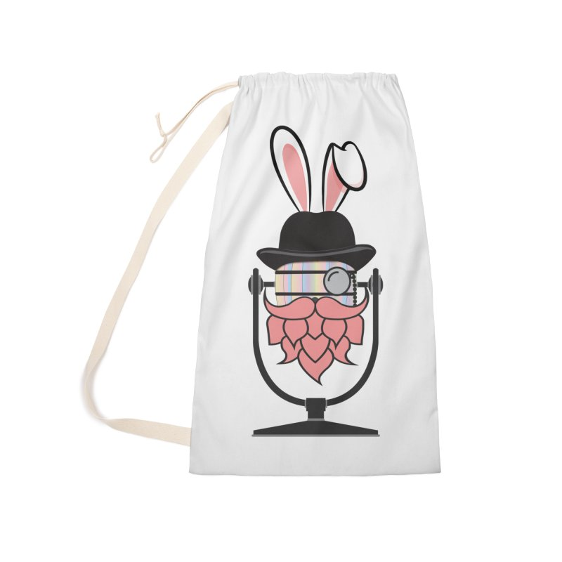 Easter Hoppy Accessories Laundry Bag Bag by Barrel Chat Podcast Merch Shop