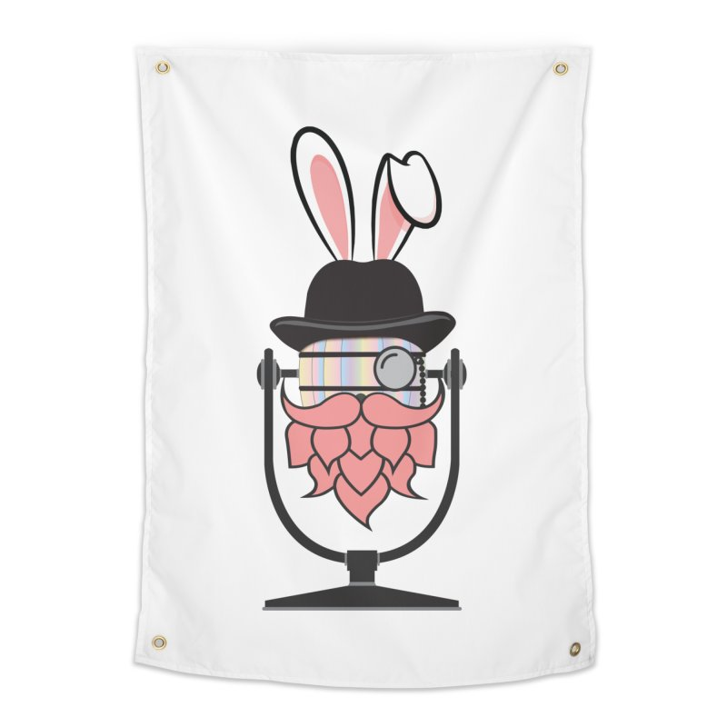 Easter Hoppy Home Tapestry by Barrel Chat Podcast Merch Shop