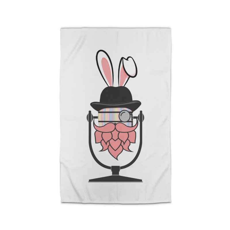 Easter Hoppy Home Rug by Barrel Chat Podcast Merch Shop