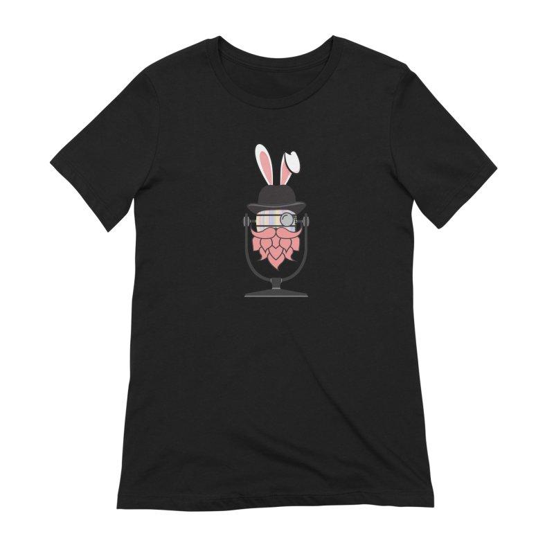 Easter Hoppy Women's Extra Soft T-Shirt by Barrel Chat Podcast Merch Shop
