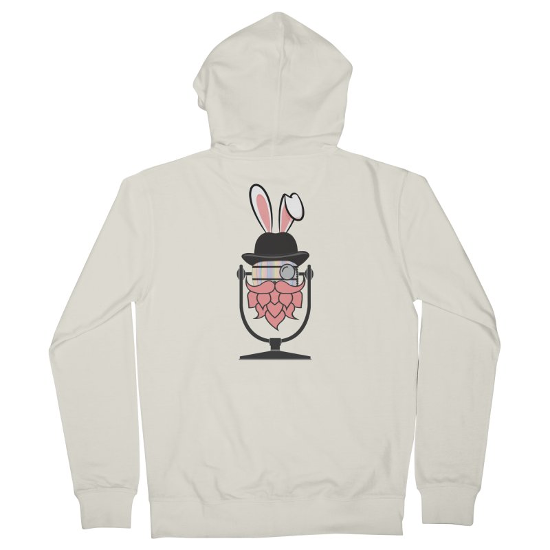Easter Hoppy Women's French Terry Zip-Up Hoody by Barrel Chat Podcast Merch Shop