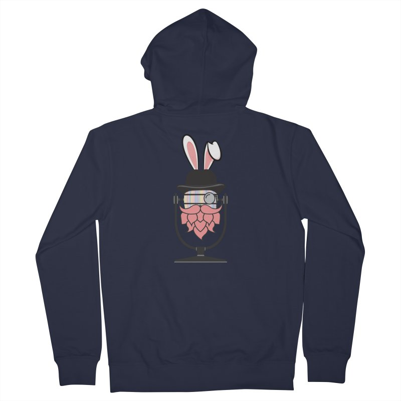 Easter Hoppy Men's French Terry Zip-Up Hoody by Barrel Chat Podcast Merch Shop