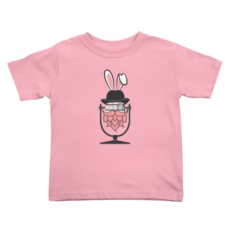 Easter Hoppy Kids Toddler T-Shirt by Barrel Chat Podcast Merch Shop