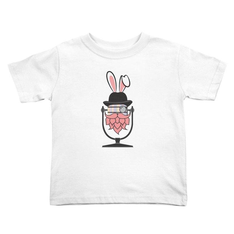 Easter Hoppy Kids Toddler T-Shirt by Barrel Chat Podcast Merch Shop