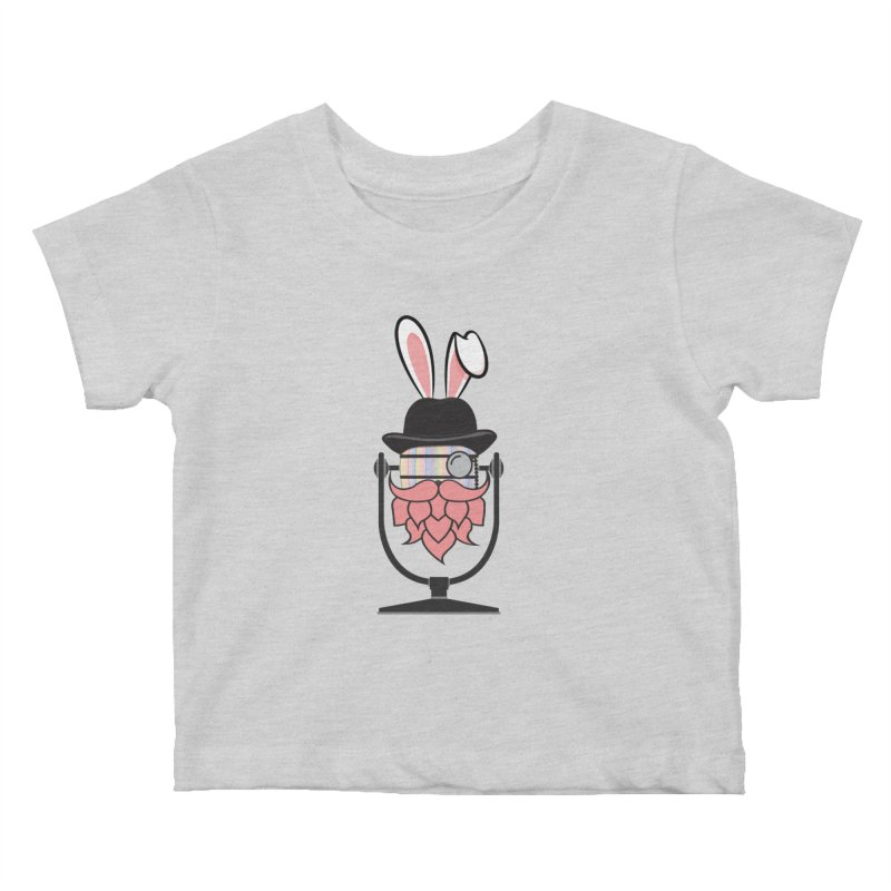Easter Hoppy Kids Baby T-Shirt by Barrel Chat Podcast Merch Shop